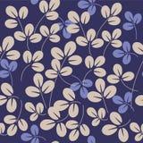 Het patroon van bladeren Royalty-vrije Stock Afbeeldingen