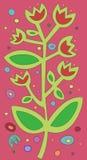 Het patroon van bloemen Royalty-vrije Stock Foto's