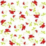 Het patroon van bloemen Royalty-vrije Stock Afbeeldingen