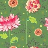Het patroon van bloemen Stock Foto