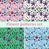 Het patroon van bloemen Stock Fotografie