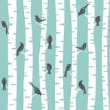 Het patroon van bomen Stock Afbeelding