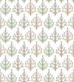 Het patroon van bomen Royalty-vrije Stock Afbeeldingen