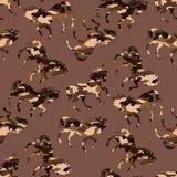 Het patroon van het camouflagepaard vector illustratie