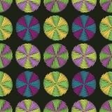 Het patroon van cirkels Stock Afbeeldingen