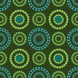 Het patroon van cirkels Royalty-vrije Stock Foto's