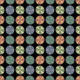 Het patroon van cirkels Royalty-vrije Stock Foto