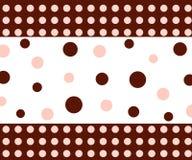 Het patroon van cirkels Stock Fotografie