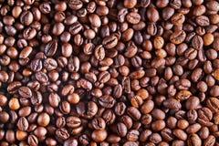 Het patroon van Coffebonen Stock Afbeeldingen
