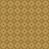 Het Patroon van de achtergrond ornamentliefde Goud vector illustratie