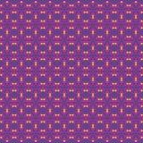Het Patroon van de achtergrond ornamentliefde Purple stock illustratie