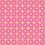 Het Patroon van de achtergrond ornamentliefde Roze royalty-vrije illustratie