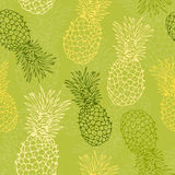 Het patroon van de ananas stock illustratie