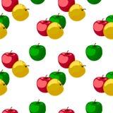 Het patroon van de appel Royalty-vrije Stock Afbeeldingen