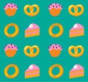 Het patroon van de bakkerij Royalty-vrije Stock Foto's
