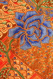 Het Patroon van de batik Stock Foto