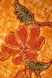 Het patroon van de batik Stock Fotografie