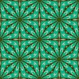 Het patroon van de batik en computerverwerking Stock Afbeeldingen