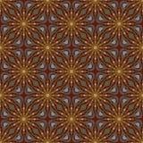 Het patroon van de batik en computerverwerking Stock Foto