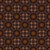 Het patroon van de batik en computerverwerking Royalty-vrije Stock Foto's