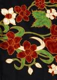 Het patroon van de batik, Maleisië Stock Afbeeldingen
