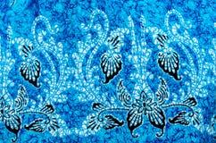 Het patroon van de batikdoek Royalty-vrije Stock Afbeeldingen
