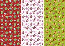 Het patroon van de bloem Stock Fotografie
