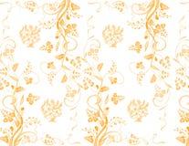 Het patroon van de bloem Stock Foto