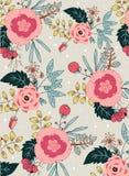 Het patroon van de bloem Royalty-vrije Stock Afbeeldingen