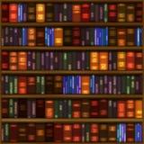 Het Patroon van de Boekenplank Royalty-vrije Stock Afbeeldingen