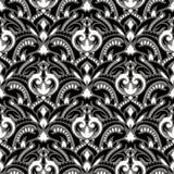 Het Patroon van de Bohobloem Royalty-vrije Stock Afbeeldingen
