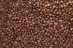 Het patroon van de Bonen van de koffie Stock Afbeeldingen