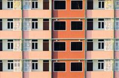 Het patroon van de bouw Stock Foto's
