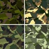 Het patroon van de camouflage Royalty-vrije Stock Afbeeldingen