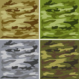 Het patroon van de camouflage Royalty-vrije Stock Afbeelding
