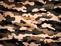 Het patroon van de camouflage Stock Foto