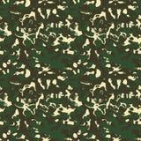 Het patroon van de camouflage Stock Afbeeldingen
