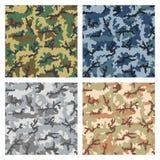 Het patroon van de camouflage Royalty-vrije Stock Fotografie
