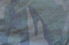 Het patroon van de camouflagedoek Stock Foto