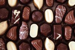 Het patroon van de chocolade Royalty-vrije Stock Foto's