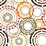 Het patroon van de cirkel Royalty-vrije Stock Foto's