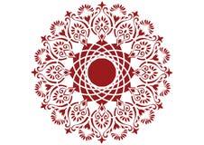 Het patroon van de cirkel royalty-vrije illustratie