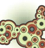 Het patroon van de cirkel vector illustratie