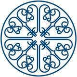Het patroon van de cirkel Royalty-vrije Stock Afbeelding