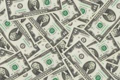 het patroon van de de dollarrekening van de contant geldmaand backgrount Stock Foto's