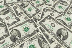 het patroon van de de dollarrekening van de contant geldmaand backgrount Stock Foto