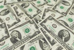 het patroon van de de dollarrekening van de contant geldmaand backgrount Royalty-vrije Stock Afbeeldingen