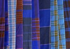 Het patroon van de doek Royalty-vrije Stock Foto