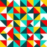 Het patroon van de driehoek Stock Foto