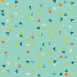 Het patroon van de driehoek Het kan voor prestaties van het ontwerpwerk noodzakelijk zijn vector illustratie